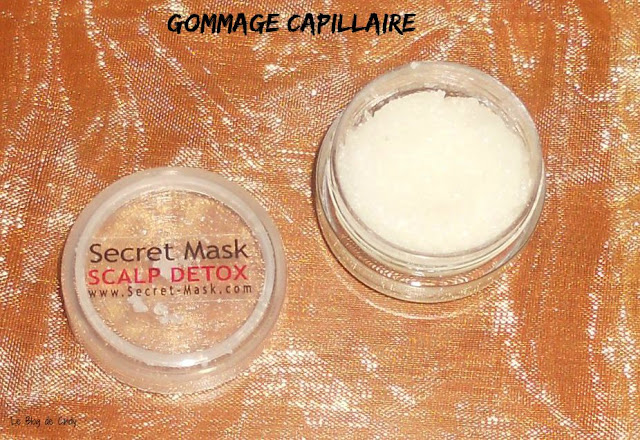 GOMMAGE CUIR CHEVELU SECRET MASK