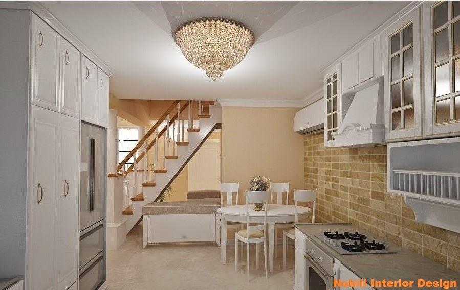 Design interior bucatrie casa