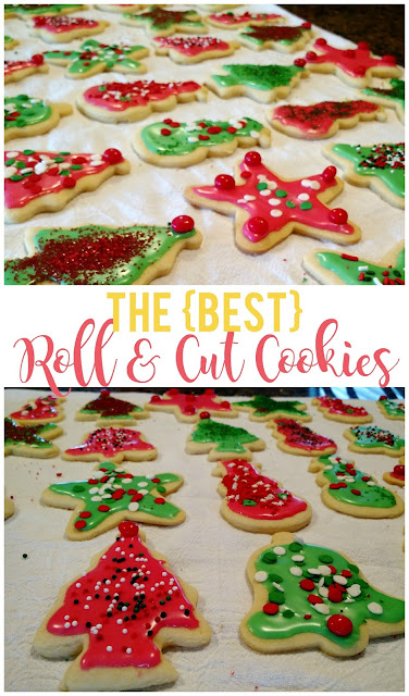 My Favorite Roll and Cut Cookies--the perfect cookie to use with cookie cutters.  We make these year round!