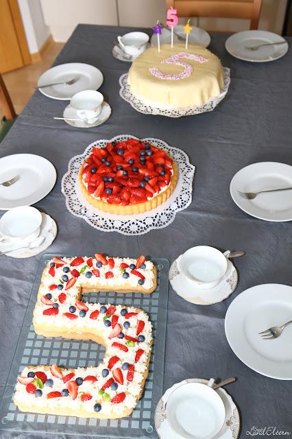 Stadtlandeltern - Number Cake - Zahlenkuchen - Geburtstagstorte - Rezept
