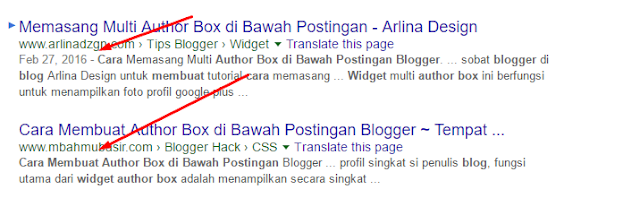 Cara menghilangkan Waktu Tanggal Postingan Blog Di Mesin Pencarian