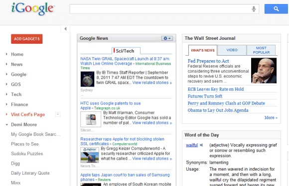 iGoogle picture