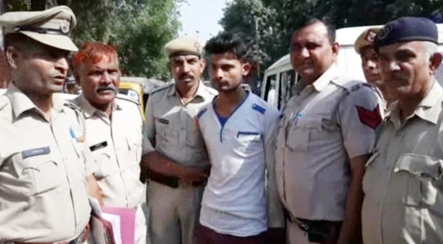 When a jigar friend put his hand on the honor of the house, he sobbed and killed, arrested