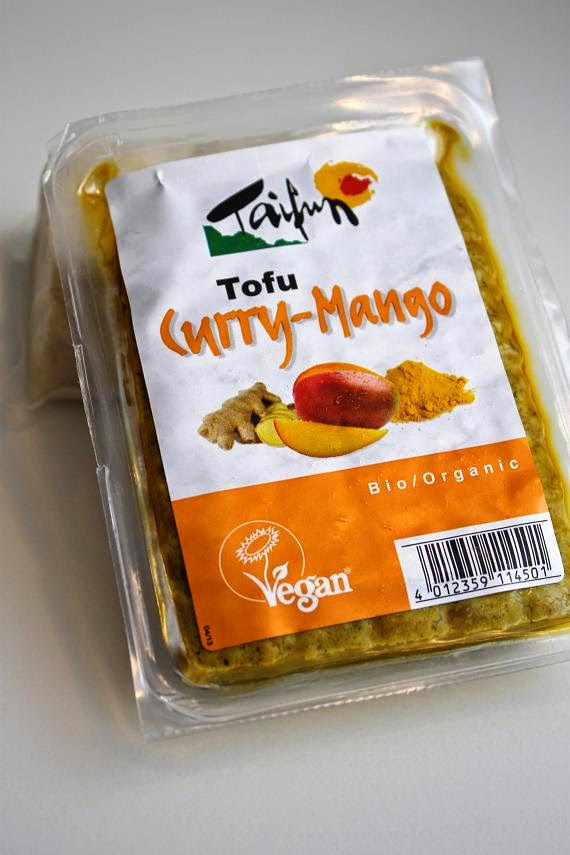 Curry-Mango Tofu