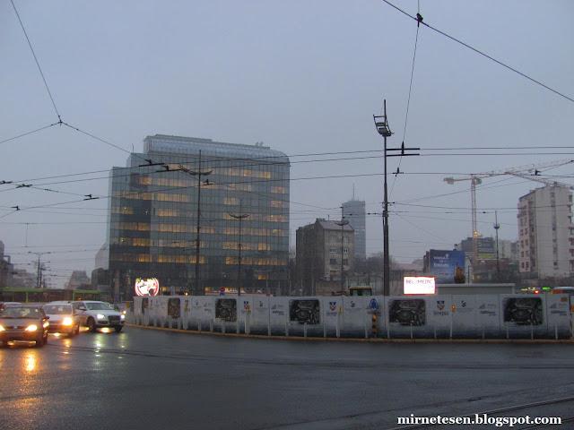 Белград - площадь Славия