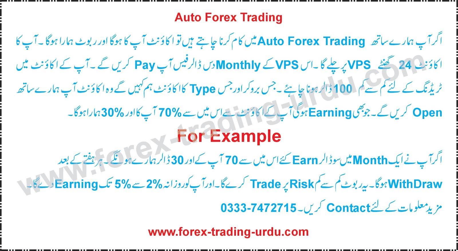 Binary options in urdu