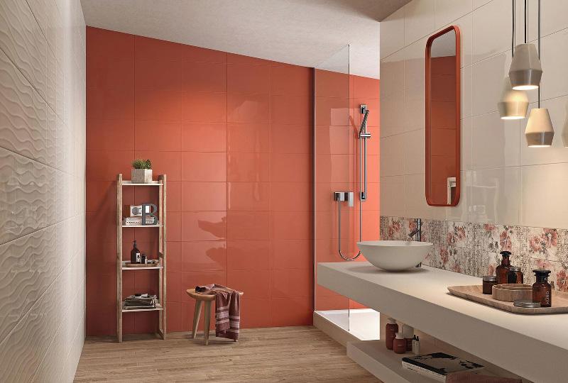 Nuove piastrelle per cambiare look al bagno blog di - Pannelli per coprire piastrelle bagno ...