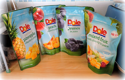 Dole Resealable Fridge Packs.