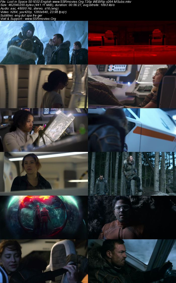 Lost in Space S01E02 English 720p WEBRip x264