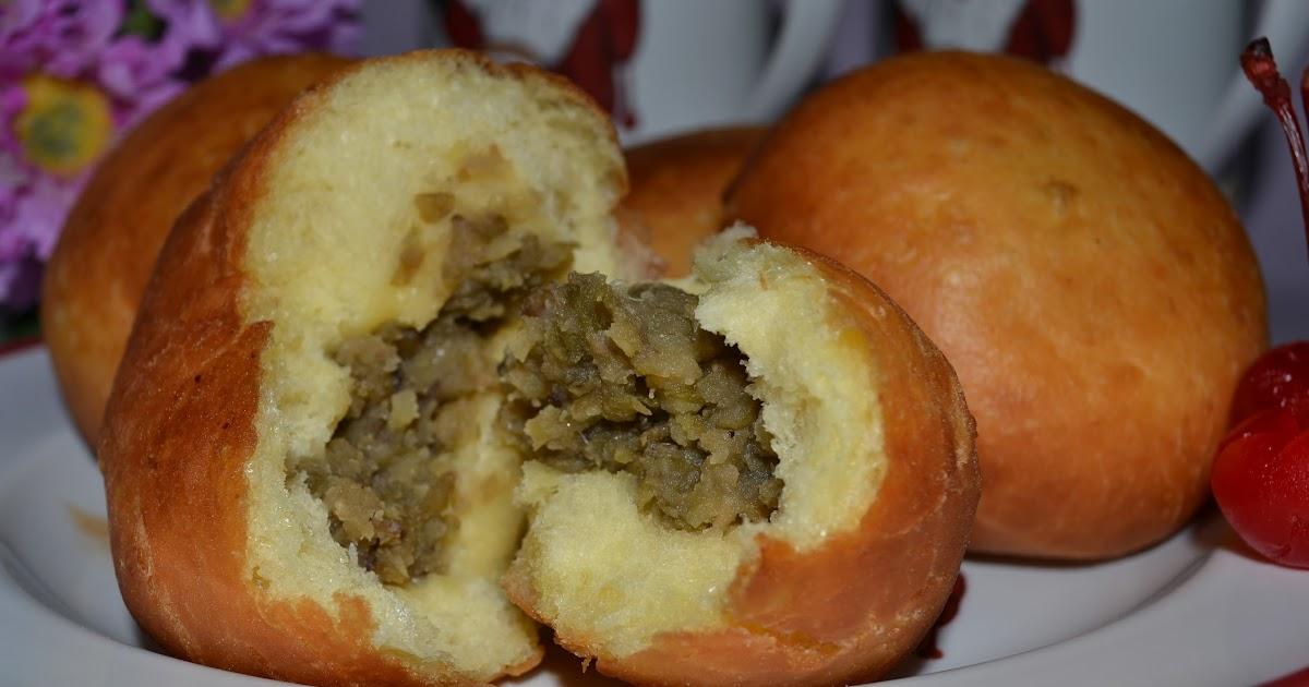 Resep Cake Pisang Diah Didi: Diah Didi's Kitchen: Roti Goreng Isi Kacang Hijau