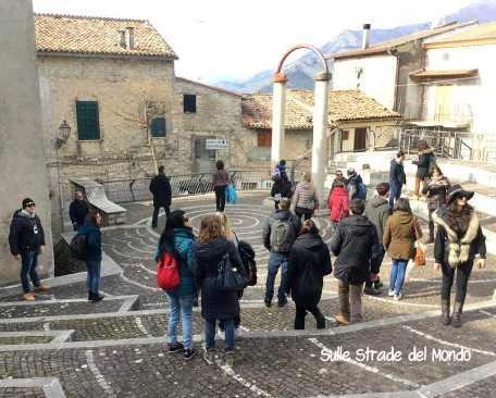 Maenza piazza Bouffemont