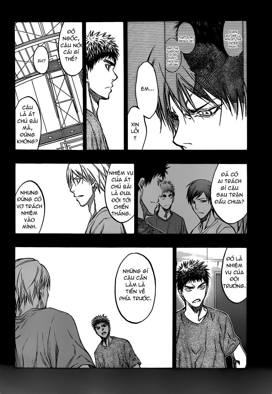 Kuroko No Basket chap 195 trang 10