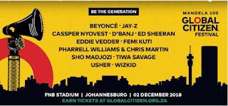 Wizkid, Tiwa Savage & Femi Kuti To Perform Alongside Jay-Z & Beyonce @ Mandela 100