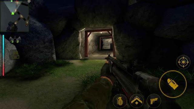 Game FPS HD Android Offline Yalghaar MOD APK