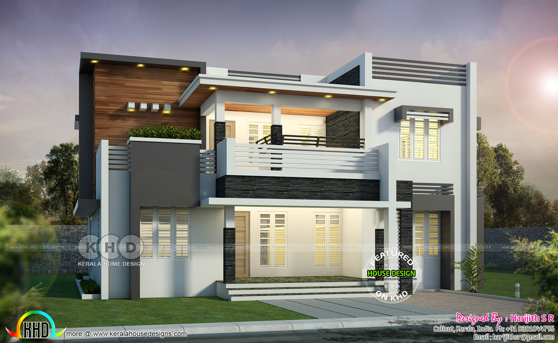 May 2019 House Designs Starts Here 2161 Sq Ft Home Kerala Home Design Bloglovin