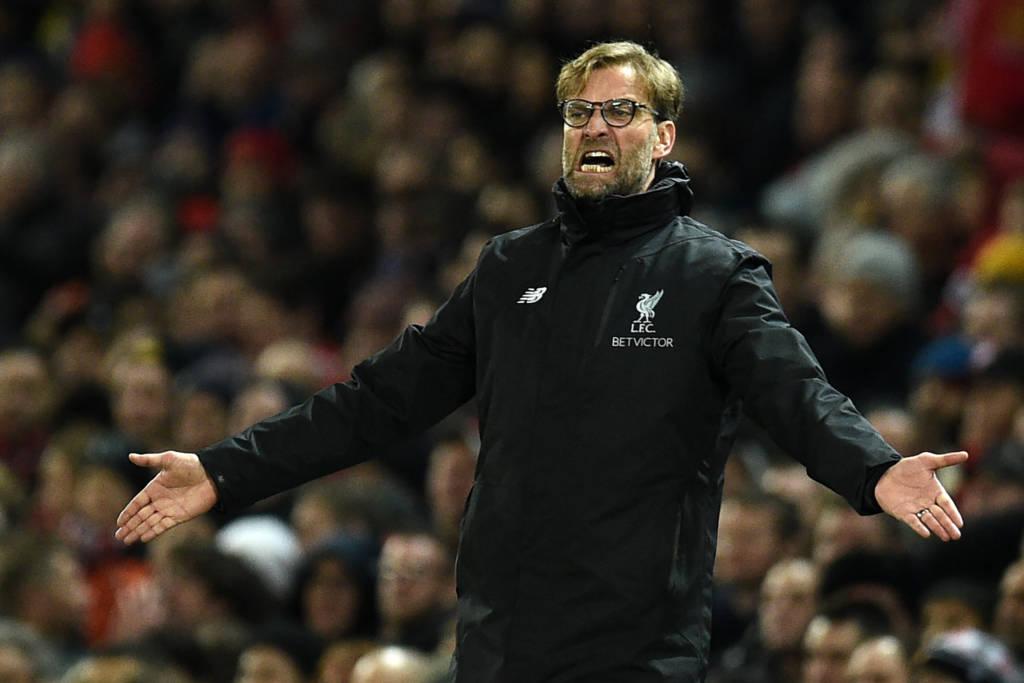 Jurgen Klopp espera evitar vexame contra rival da quarta divisão (Foto: Oli Scarff/AFP)