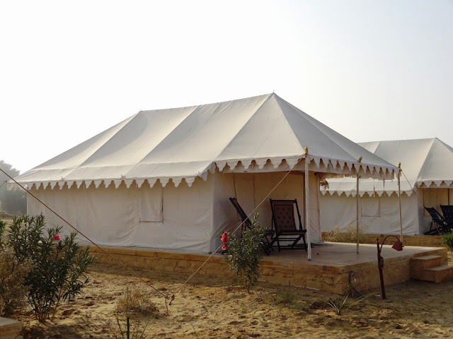Tents at Damodar Desert camp   - Jaisalmer, Rajasthan - Pick, Pack, Go