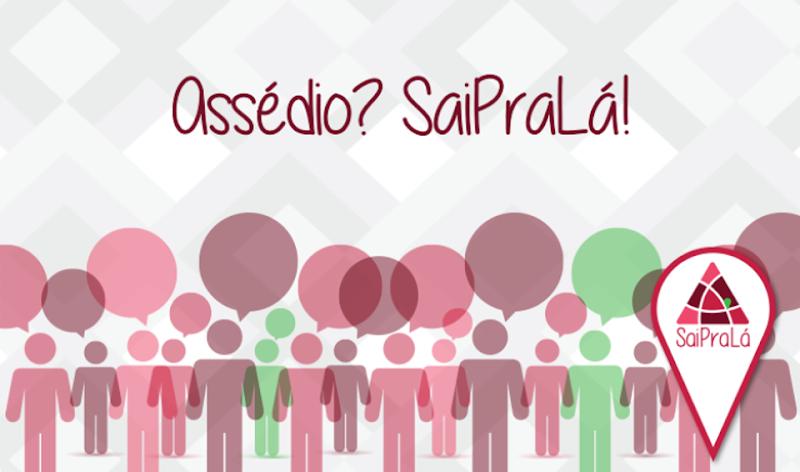Image result for sai pra lá logo