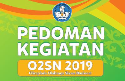 Pedoman – Juknis O2SN SMA Tahun 2019