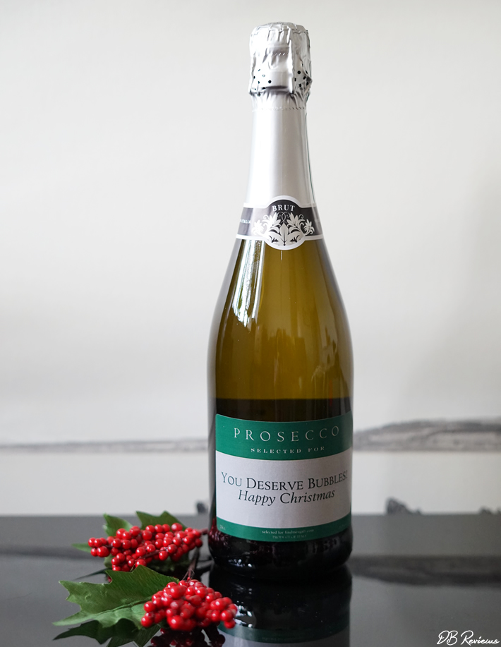 Personalised Prosecco from Find Me a Gift