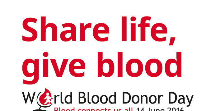 PARMIONOVA: World Blood Donor Day 2016, June 14