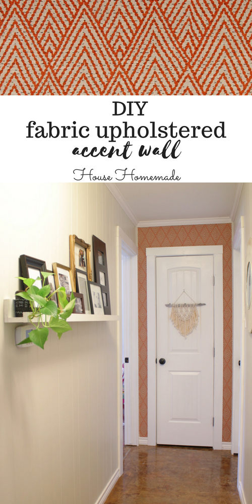 Fabric Upholstered Wall Tutorial