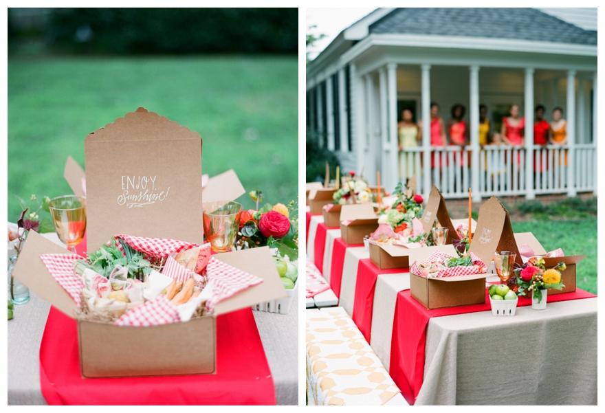 A Fabulous Picnic Wedding Theme