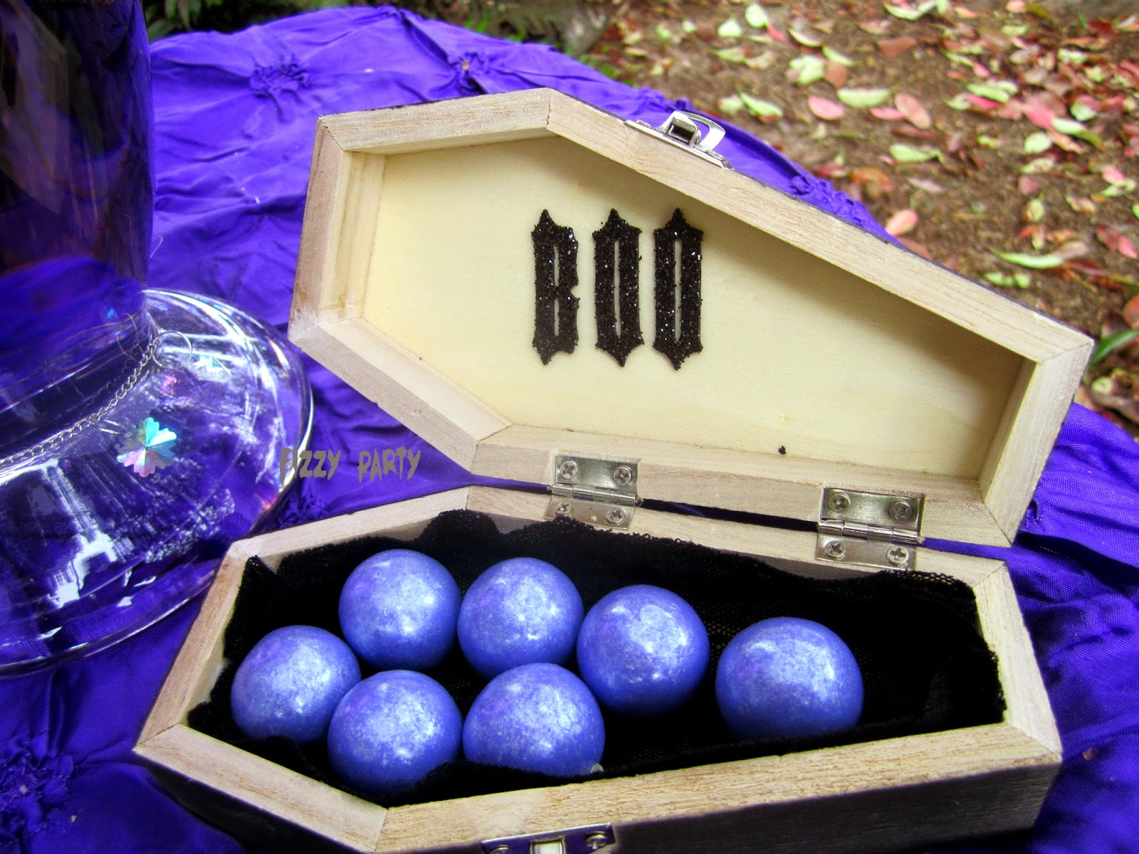 Ghouls Night Out coffin party favor