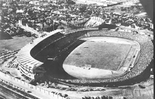 Estádio Olímpico, em 1954