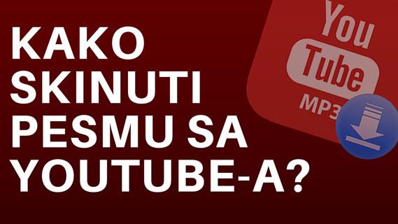 Kako skinuti pesmu sa YouTube-a u mp3