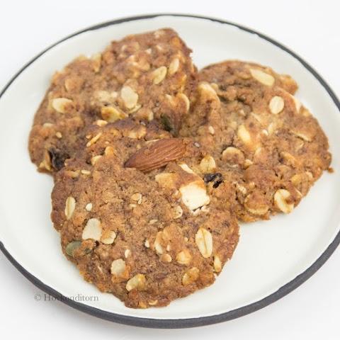 White Chocolate Muesli Cookies