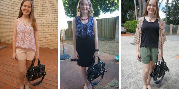black balenciaga part time bag in summer 3 outfit ideas | awayfromtheblue