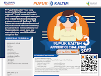 Lowongan Magang PT Pupuk Kalimantan Timur