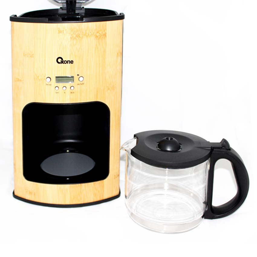 OX-952 Oxone Bamboo Coffee & Tea Maker 650W - 1.5Lt