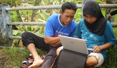 Kecepatan persebaran Informasi masyarakat desa