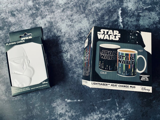 Star Wars Playing Cards and Heat Change Mug in packaging
