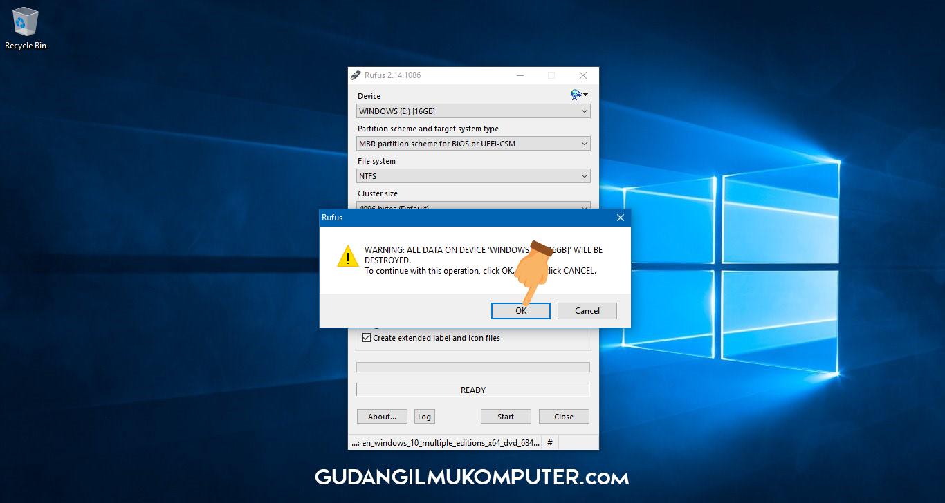 how to create a usb bootable windows 8 on rufus