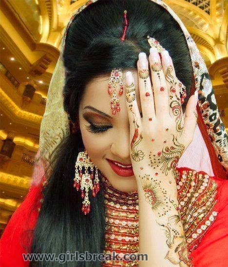 Bridal Eid Mehndi Designs 2014 For Girls