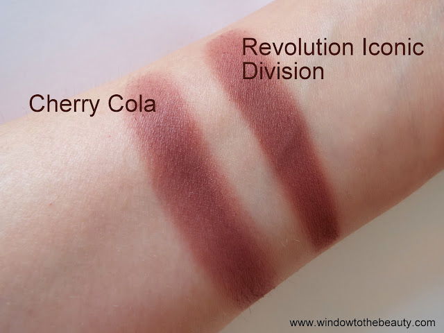 Makeup Geek Cherry Cola cheap dupes swatches