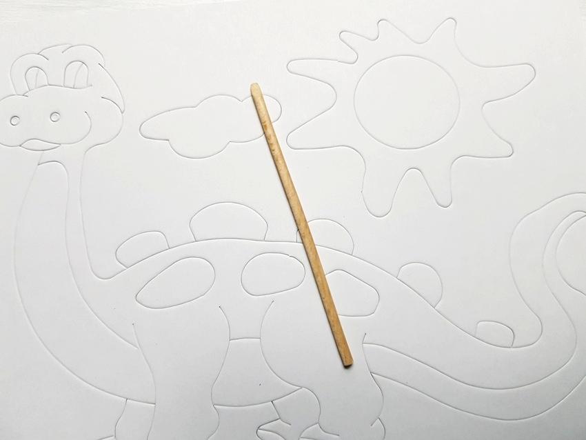 kreatywne malowanki, piasek