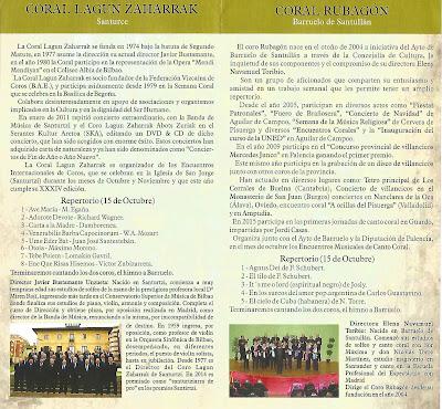 IX Encuentros musicales del Coro Rubagón