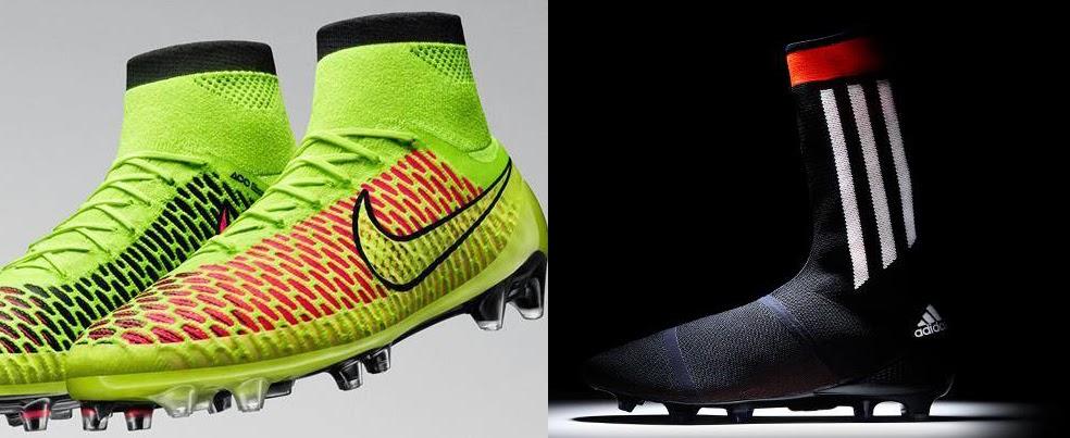 Maxi Fútbol Mundial  Adidas y Nike en guerra por los botines f4a3efa6ec70b