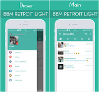 BBM MOD RETROIT LIGHT V1.2 Base BBM v3.3.1.24 Apk Update Terbaru
