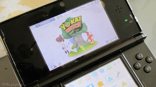 Playing Yo-Kai Watch on the Nintendo DS3