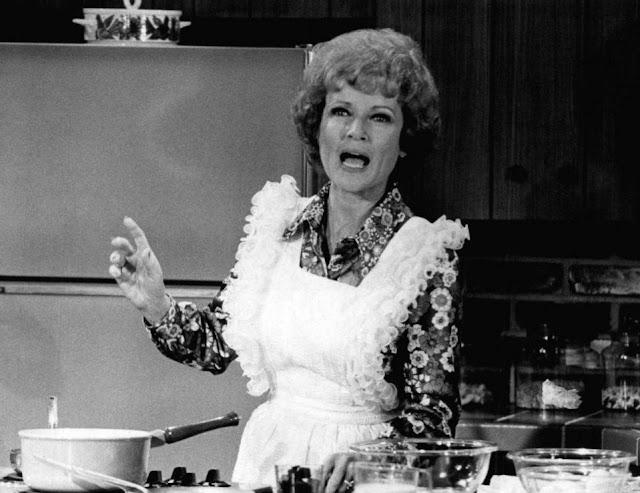 Betty White as Sue Ann Nivens, The Happy Homemaker