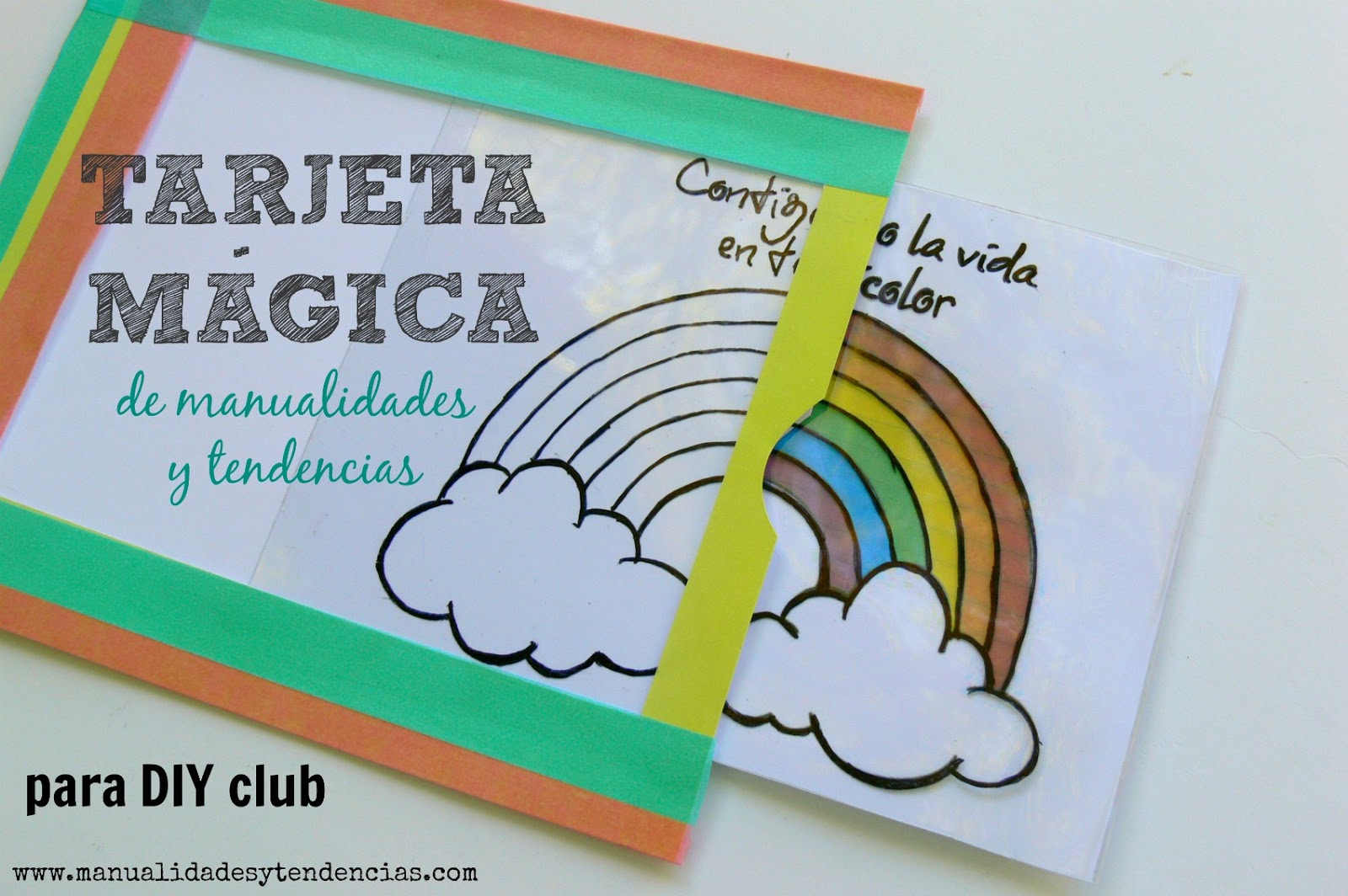 Tarjeta mágica - Handbox Craft Lovers | Comunidad DIY, Tutoriales ...