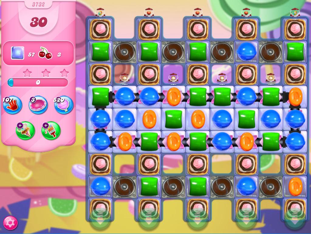 Candy Crush Saga level 3732
