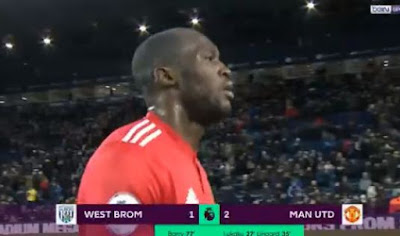 Manchester United Menang 2-1 atas West Bromwich Albion
