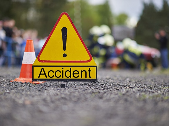 kecelakaan pertama kali
