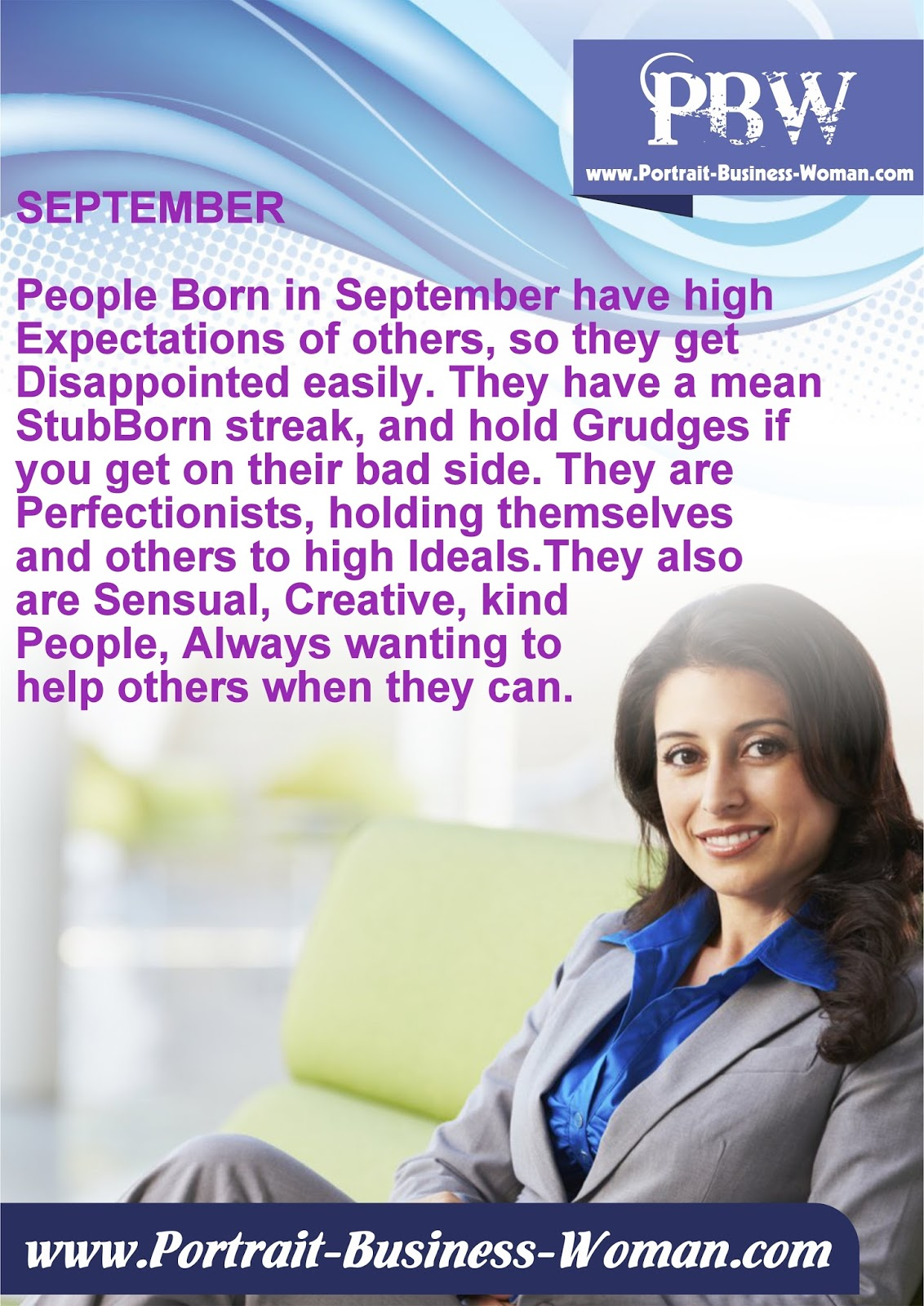 Your birth month characteristics